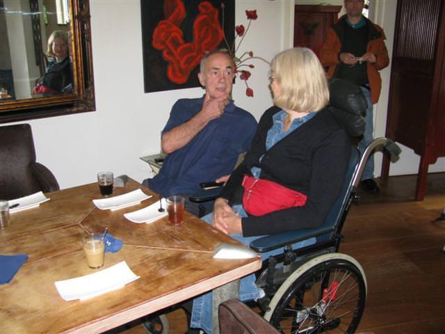 Johan Bakker maakt kennis met Ans Schippers