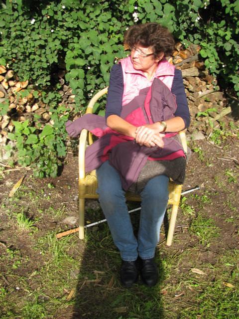 En Edith de Jong gunt haarzelf een pauze