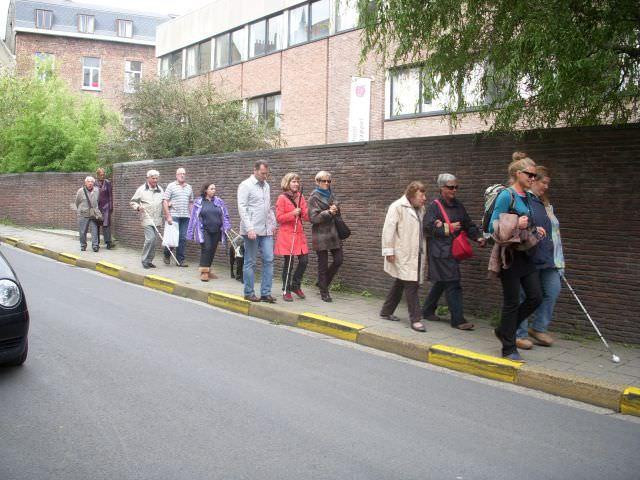 Groep 1 aan de wandel door Gent