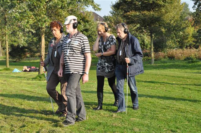 Adri Hopman begeleidt Corry van der Sar en Anja Dassen begeleidt Roel van Houten