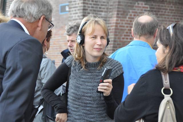 Cilia Erens verzamelt haar IPods en hoofdtelefoons