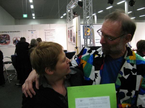 Mirjam te Brake wint de hoofdprijs; een culturele weekendexcursie naar Gent